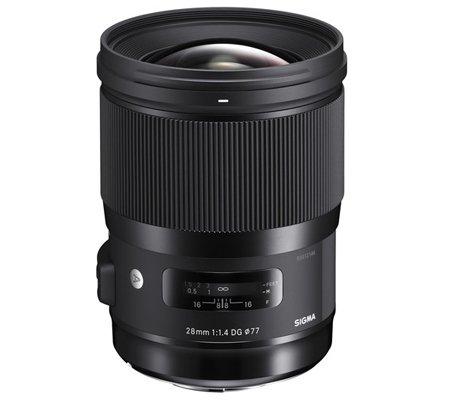 Sigma for Canon EF 28mm f/1.4 DG HSM Art Lens