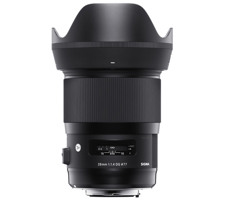 Sigma for Canon EF 28mm f/1.4 DG HSM Art Lens