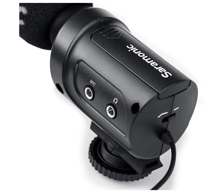 Saramonic SR-M3 Mini Directional Condenser Microphone For Camera & Camcorder