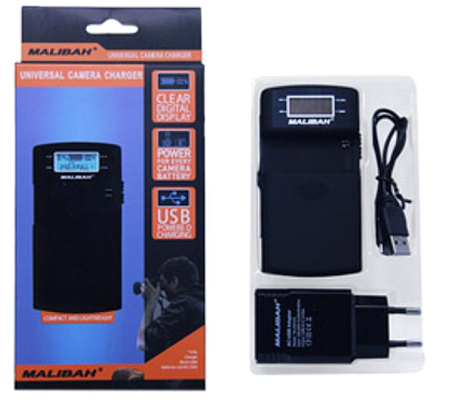 Malibah UNI-03 LCD Universal Charger