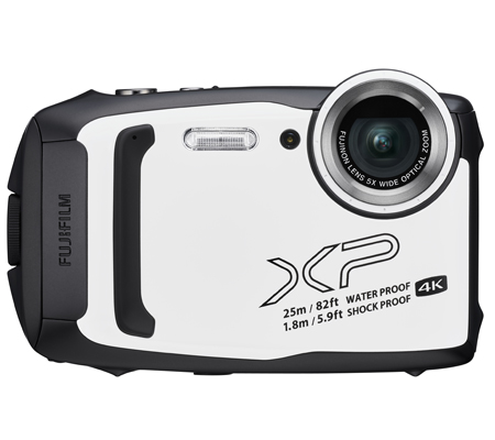 Fujifilm FinePix XP140 Digital Camera White