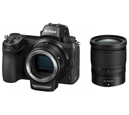 Nikon Z7 Kit 24-70mm f/4 S + FTZ Mount Adapter