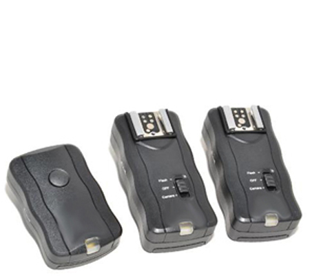 Flashlight Trigger Set JF-U2 (Incl. 1 Transmitter + 2 Receivers)
