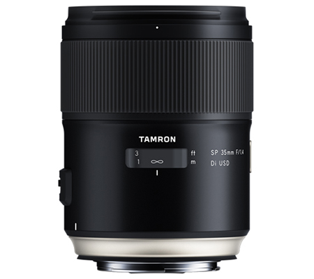 Tamron for Canon EF SP 35mm f/1.4 Di USD.
