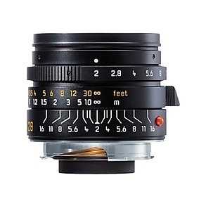 Leica 28mm f/2 Summicron-M ASPH Black (11604).
