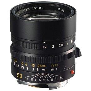 Leica 50mm f/1.4 Summilux-M ASPH Black (11891)