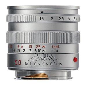 Leica 50mm f/1.4 Summilux-M ASPH Silver (11892)