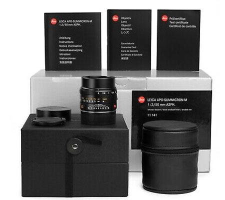 :::USED:::Leica Apo-Summicron-M 50mm F/2 Asph 11141 (Mint-652)