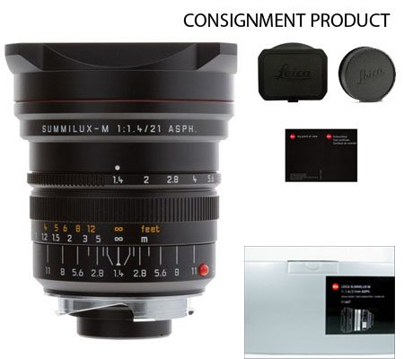 :::USED:::Leica Summilux-M 21mm f/1.4 ASPH. Lens (11647) MINT-312 CONSIGNMENT