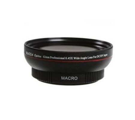 ::: USED ::: Massa Optics 58mm Professional 0.45x Wide Angle Lens for DC/DV (Excellent To Mint)
