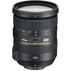 Nikon AF-S 18-200mm f/3.5-5.6G DX VR II ED.