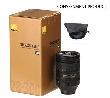 :::USED:::Nikon AF-S 28-300mm f/3.5-5.6G VR ED (EX-MINT#772) CONSIGNMENT