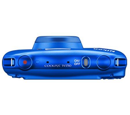 Nikon Coolpix W150 Waterproof Digital Camera Blue