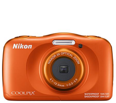 Nikon Coolpix W150 Waterproof Digital Camera Orange