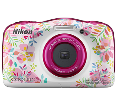 Nikon Coolpix W150 Waterproof Digital Camera Pink