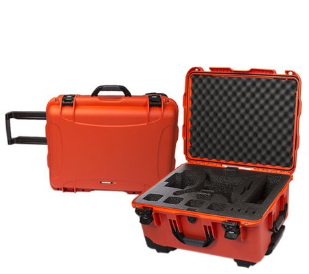 Nanuk 950 Waterproof Hard Case with Foam for DJI Phantom 4/4 Pro/4 Pro+ Orange