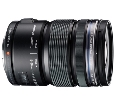 Olympus M.Zuiko Digital ED 12-50mm f/3.5-6.3 EZ Black