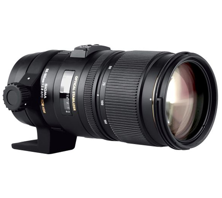 Sigma for Canon 50-150mm f/2.8 APO EX DC OS HSM.