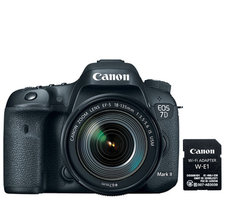 Canon EOS 7D Mark II kit EF-S 18-135mm f/3.5-5.6 IS USM Nano + W-E1 Wifi