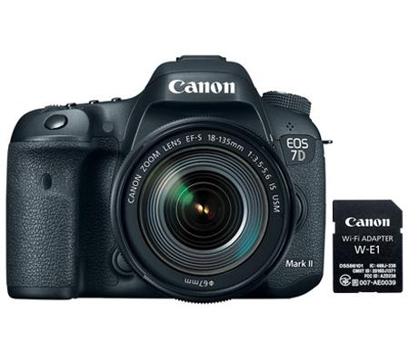 Canon EOS 7D Mark II kit EF-S 18-135mm f/3.5-5.6 IS USM Nano + W-E1 Wifi