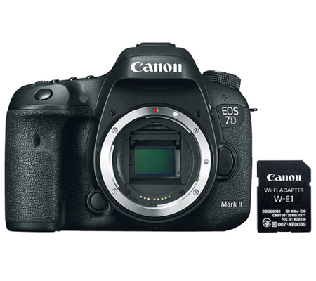 Canon EOS 7D Mark II Body + W-E1 Wifi