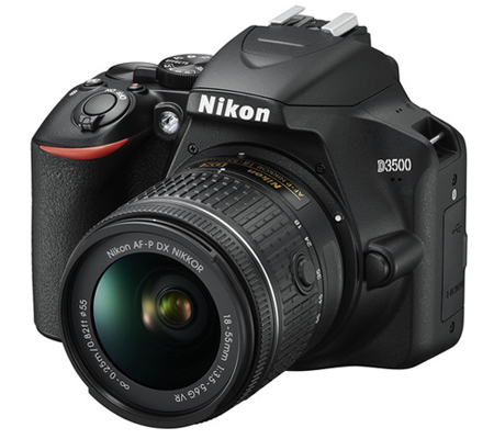 Nikon D3500 Kit 18-55mm FREE Lensa AF-P DX 70-300mm non VR