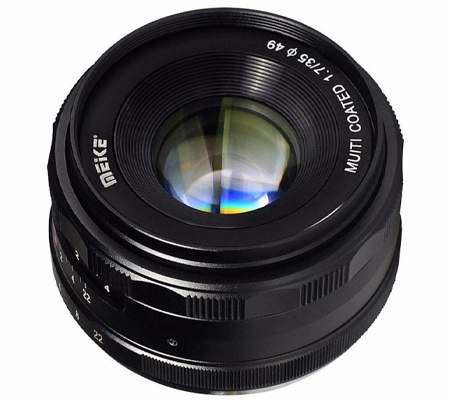 Meike for Sony E-Mount 35mm f/1.7 Manual Focus APS-C