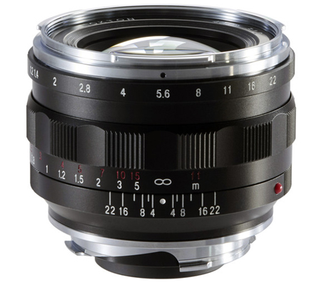 Voigtlander for Leica M Nokton 40mm f/1.2 Aspherical Lens