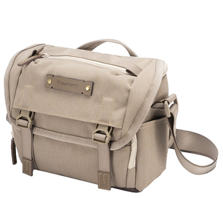 Vanguard Veo Range 21M Small Messenger Camera Bag Beige Tan