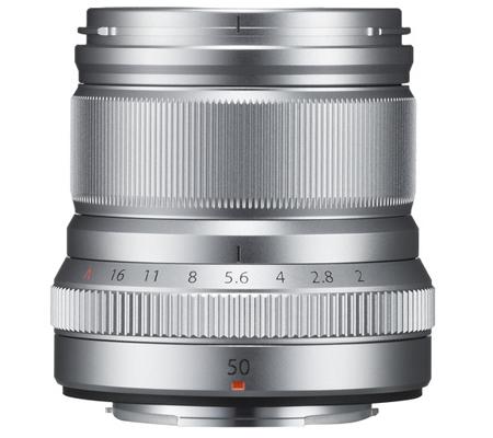 Fujifilm XF50mm f/2 R WR Silver