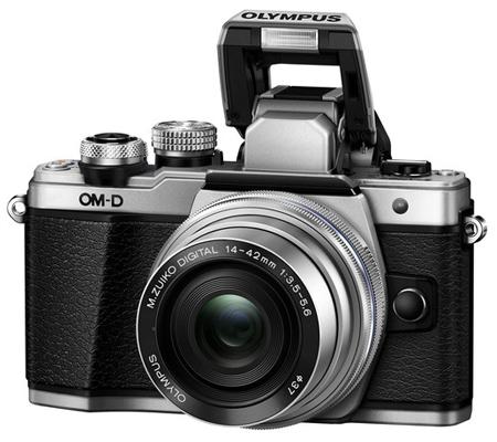 Olympus OM-D E-M10 Mark II Kit 14-42mm F3.5-5.6 EZ Silver