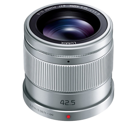 Panasonic Lumix G 42.5mm f/1.7 ASPH Power O.I.S Silver