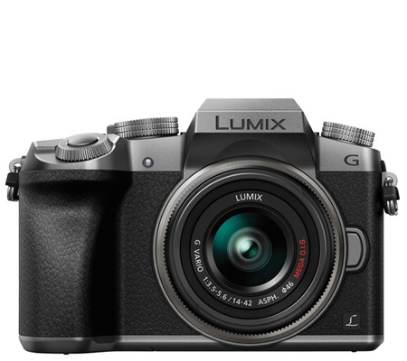 Panasonic Lumix DMC-G7 Kit 14-42mm f/3.5-5.6 II MEGA O.I.S Silver