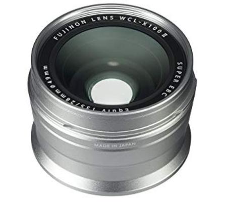 Fujifilm Wide Conversion Lens WCL-X100 II Silver