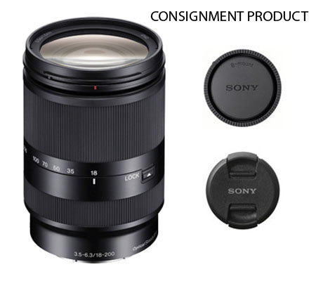 ::: USED ::: Sony E 18-200mm F/3.5-6.3 OSS LE (Mint-319) CONSIGNMENT
