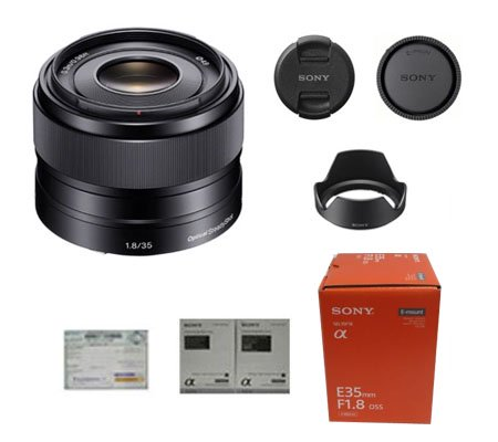 ::: USED ::: Sony E 35mm F/1.8 OSS (Excellent-929)