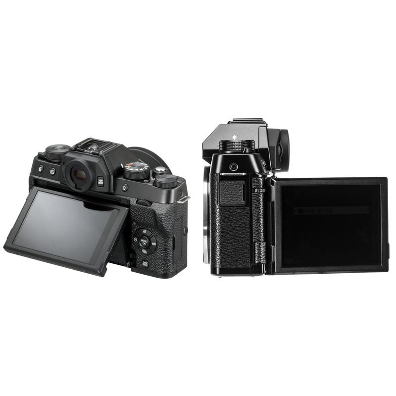 Fujifilm X-T100 kit XC15-45mm f/3.5-5.6 OIS PZ Black