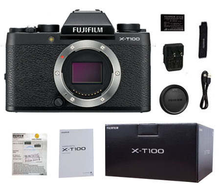 ::: USED ::: Fujifilm X-T100 Body (Black) (Excellent To Mint-793)