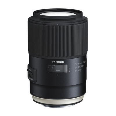 Tamron for Canon SP 90mm f/2.8 Di Macro VC USD.