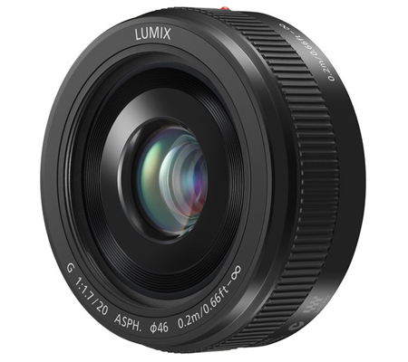 Panasonic Lumix G 20mm f/1.7 II ASPH Black