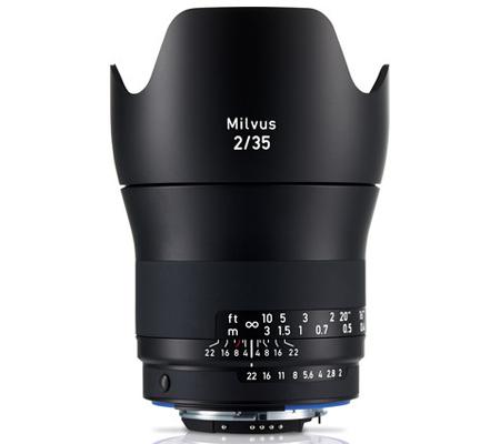 Zeiss for Nikon Milvus 35mm f/2 ZF.2