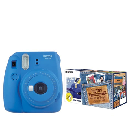 Fujifilm Denim Package Mini 9 Cobalt Blue