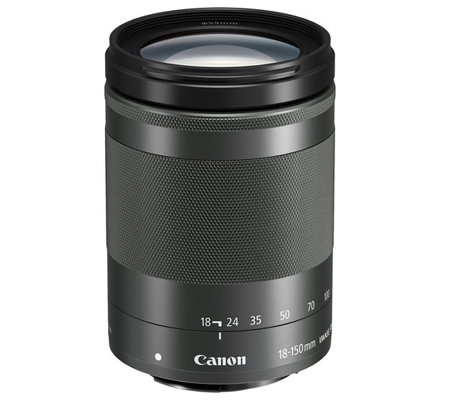 Canon EF-M 18-150mm f/3.5-6.3 IS STM Graphite