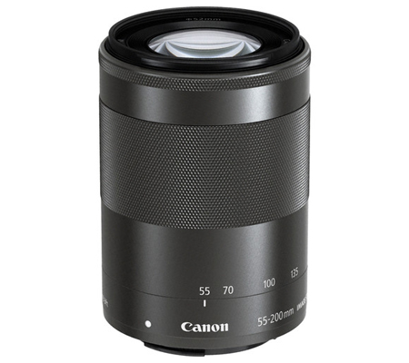 Canon EF-M 55-200mm f/4.5-6.3 IS STM Graphite