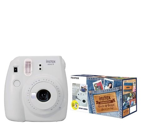 Fujifilm Denim Package Mini 9 Smokey White