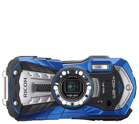 Ricoh Waterproof WG-40W Blue