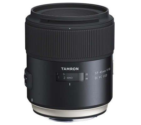 Tamron for Canon SP 45mm f/1.8 Di VC USD Lens