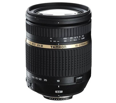 Tamron for Nikon AF 18-270mm f/3.5-6.3 Di II VC PZD (Built-in Motor)