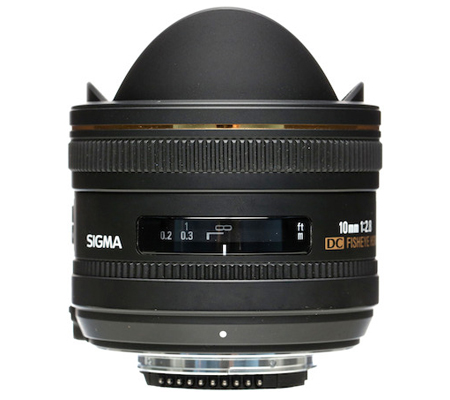 Sigma for Nikon 10mm f/2.8 EX DC Fisheye HSM.