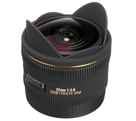 Sigma for Canon 10mm f/2.8 EX DC Fisheye HSM